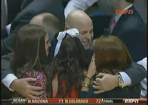seth greenberg daughters. coach Seth Greenberg being