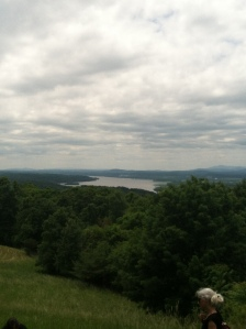 View of the Hudson River from Olana.