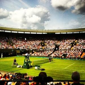 Wimbledon is here! Photo courtesy of @big_waz on Instagram