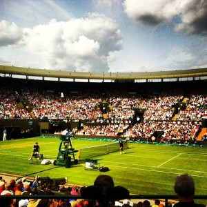 Wimbledon is here! Photo courtesy of @big_waz on Instagram